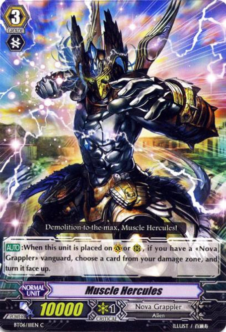 Cardfight Vanguard Breaker of Limits Common Muscle Hercules BT06/111