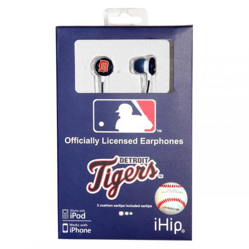 MLB Detroit Tigers Earphones