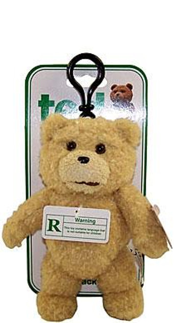 """Ted Movie Ted Plush Backpack Clip [""""PG"""" Version]"""