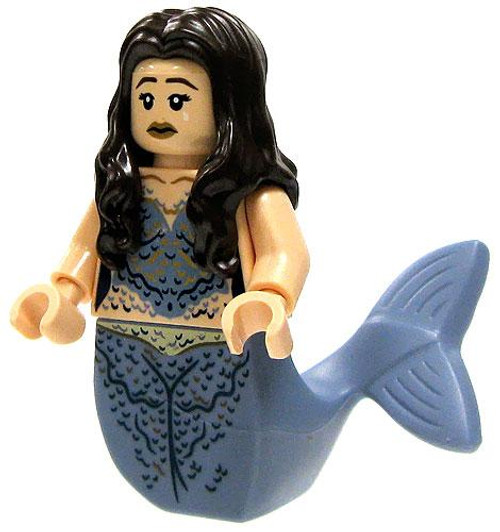 LEGO Pirates of the Caribbean Loose Mermaid Minifigure [Brown Hair & Blue Tail Loose]
