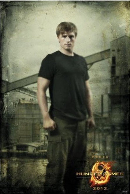NECA The Hunger Games Peeta in District 12 Movie Poster