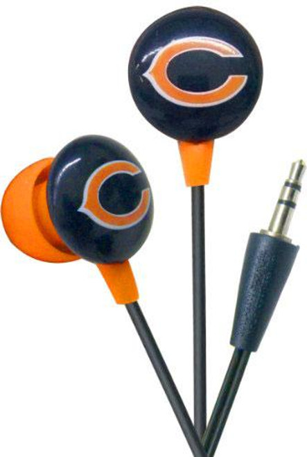 NFL Sports Earphones Chicago Bears Earbuds