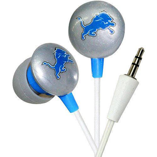 NFL Sports Earphones Detroit Lions Earbuds