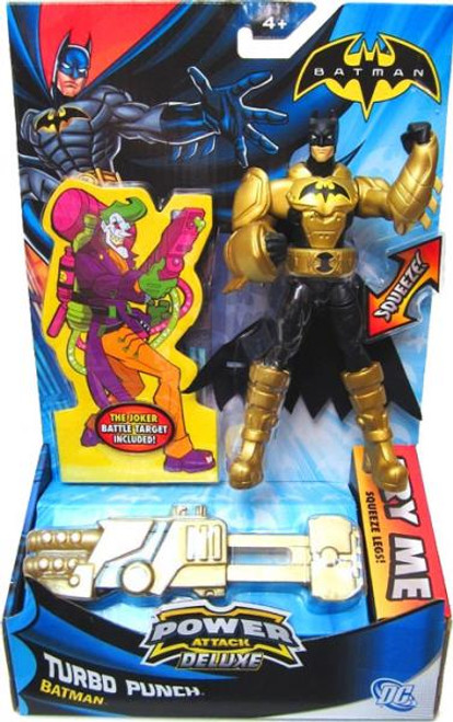 Power Attack Deluxe Batman Action Figure [Turbo Punch]