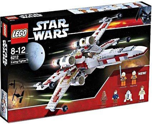 LEGO Star Wars A New Hope X-Wing Fighter Exclusive Set #6212