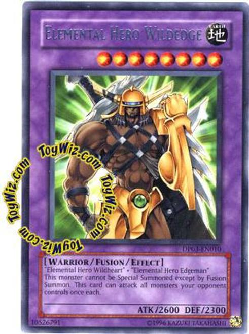 YuGiOh GX Duelist Pack Jaden Yuki 2 Rare Elemental Hero Wildedge DP03-EN010