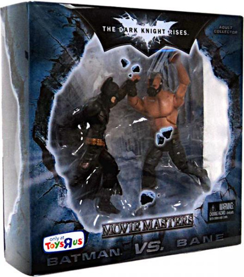 The Dark Knight Rises Movie Masters Batman Vs. Bane Exclusive Action Figure 2-Pack