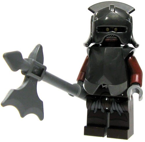 LEGO The Lord of the Rings Loose Uruk-hai Heavy Infantry Minifigure [Loose]