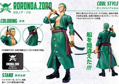 One Piece Figuarts ZERO Roronoa Zoro Statue [New World]