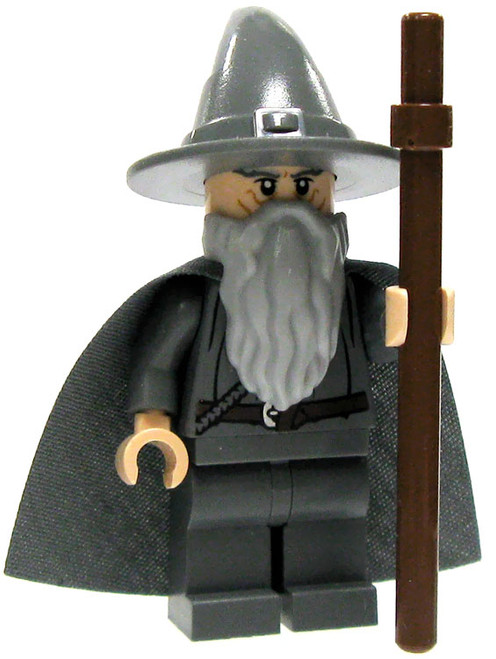 LEGO The Lord of the Rings Loose Gandalf Minifigure [Hat & Cloak Loose]