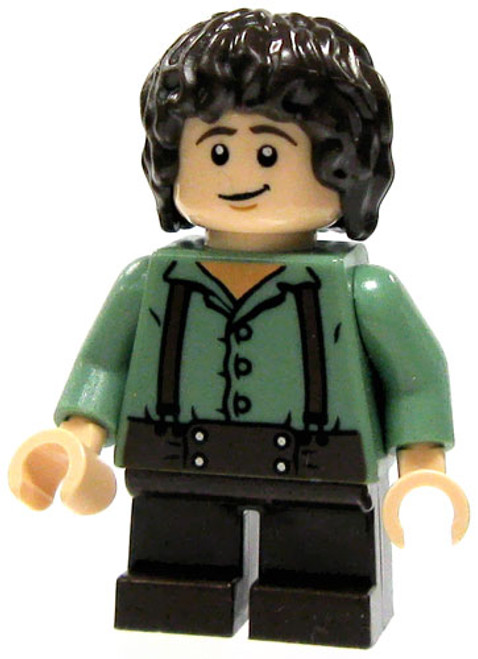 LEGO The Lord of the Rings Loose Frodo Baggins Minifigure [Green Shirt Loose]