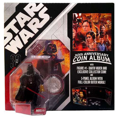 Star Wars Revenge of the Sith 30th Anniversary 2007 Wave 1 Darth Vader Action Figure #1