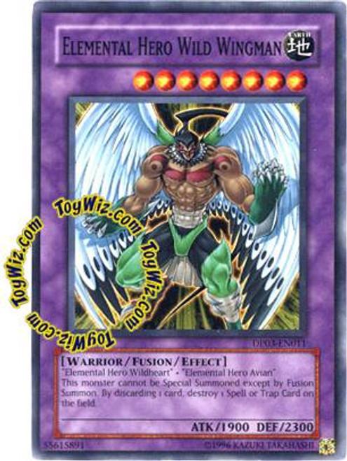 YuGiOh GX Duelist Pack Jaden Yuki 2 Common Elemental Hero Wild Wingman DP03-EN011
