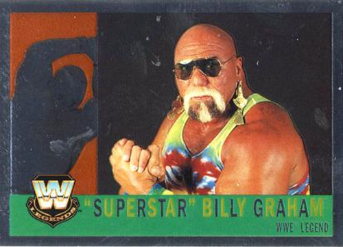 WWE Wrestling Topps Chrome 2006 WWE Heritage Legends Superstar Billy Graham #87