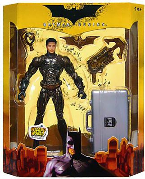 Batman Begins Batman Exclusive Action Figure [Prototype Suit Unmasked]