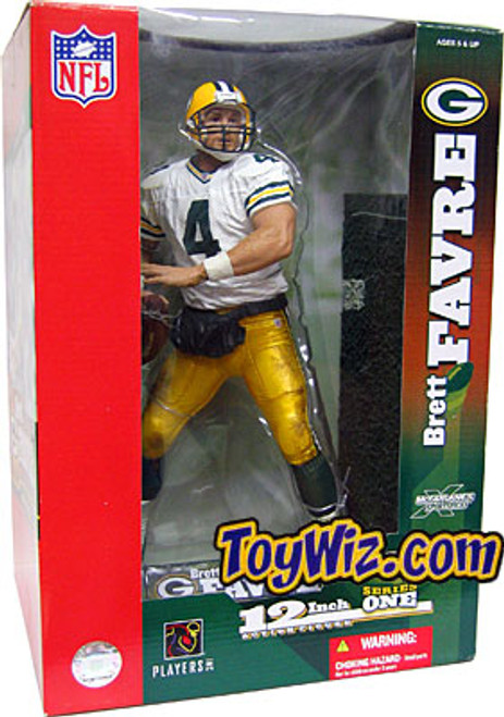 McFarlane Toys NFL Green Bay Packers Sports Picks 12 Inch Deluxe Brett Favre Exclusive Action Figure [White Jersey Variant]