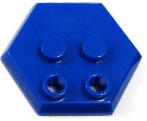 Catspaw Customs 4-Stud MiniFig Hex Stand [Blue]