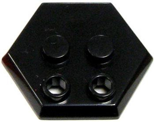 Catspaw Customs 4-Stud MiniFig Hex Stand [Black]