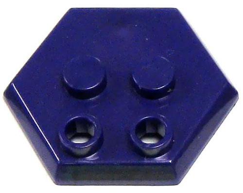 Catspaw Customs 4-Stud MiniFig Hex Stand [Purple]