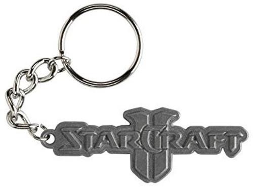 Starcraft II Logo Metal Keychain