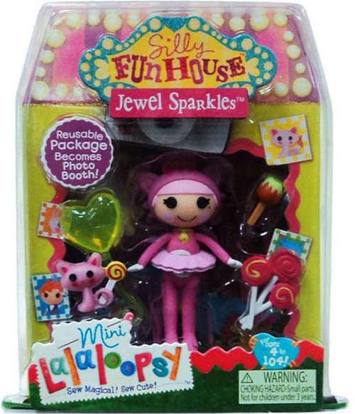Lalaloopsy Silly Funhouse Jewel Sparkles 3-Inch Mini Figure