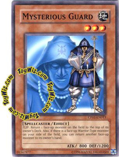 YuGiOh GX Champion Pack: Game 1 Common Mysterious Guard CP01-EN013