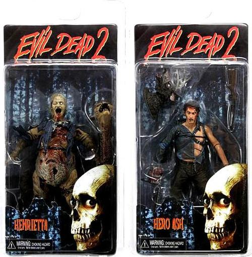 NECA Evil Dead 2 Series 2 Set of 2 Action Figures