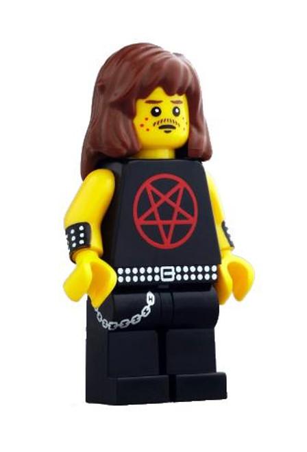 Citizen Brick Custom Painted Heavy Metal Enthusiast Minifigure