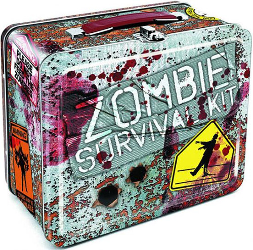 Zombies Zombie Survival Kit Lunch Box