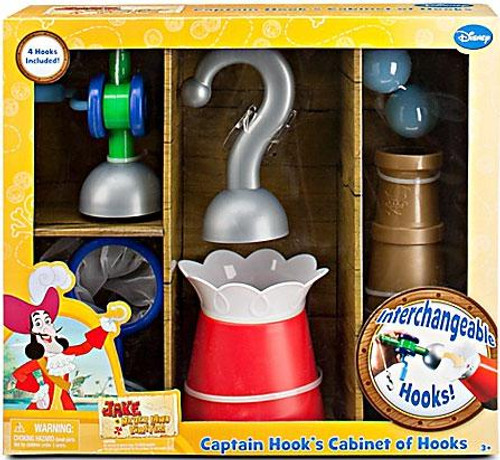 Disney Jake and the Never Land Pirates Captain Hook's Cabinet of Hooks Roleplay Toy