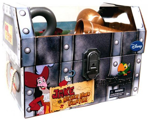 Disney Jake and the Never Land Pirates Captain Hook's Playset Exclusive Roleplay Toy