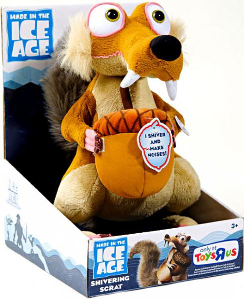 Ice Age Continental Drift Shivering Scrat Exclusive Plush Figure