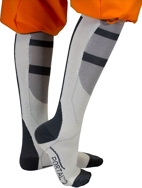 NECA Portal 2 Long Fall Exclusive Socks