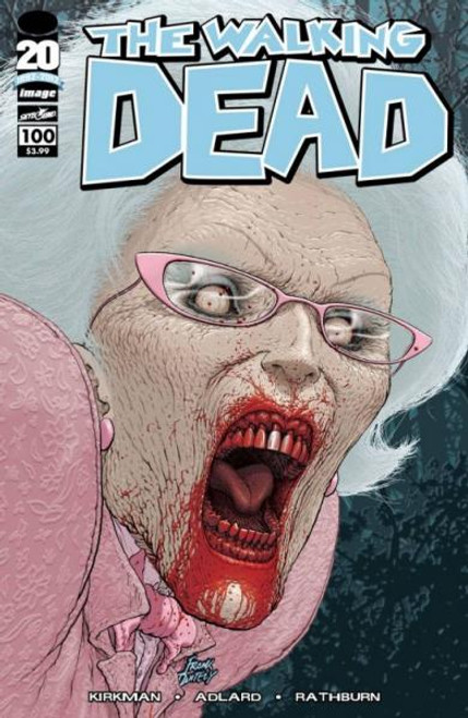 Image Comics The Walking Dead Comic Book #100 [Frank Quitely Cover]