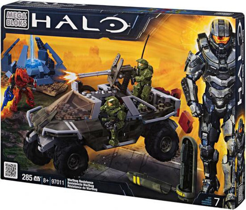 Mega Bloks Halo Warthog Resistance Set #97011