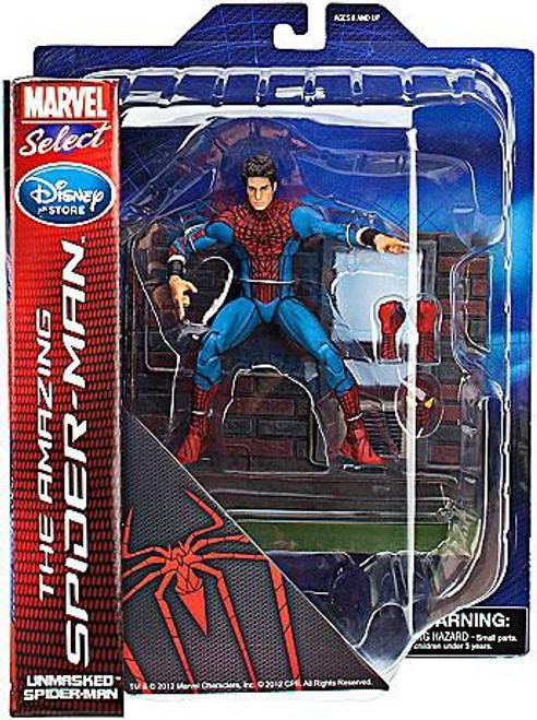 Marvel Select The Amazing Spider-Man Exclusive Action Figure [Unmasked]