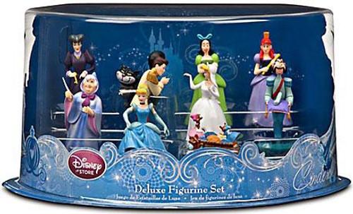 Disney Princess Cinderella Cinderalla Deluxe Figurine Set Exclusive
