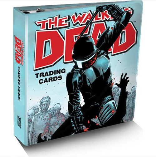 Comic The Walking Dead Exclusive Trading Card Binder & Set
