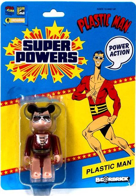 DC Super Powers Bearbrick Plastic Man Be@rbrick Exclusive Minifigure