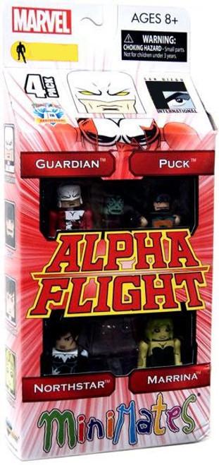 Marvel Minimates Alpha Flight Exclusive Minifigure 4-Pack