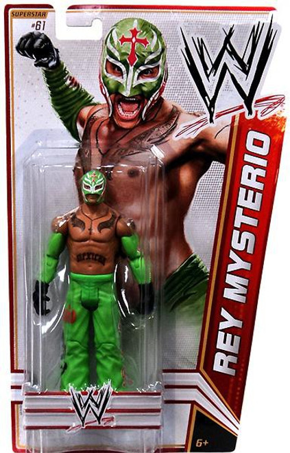 WWE Wrestling Series 23 Rey Mysterio Action Figure #61