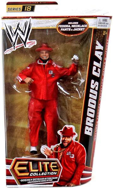 WWE Wrestling Elite Series 18 Brodus Clay Action Figure [Fedora, Necklace, Pants & Jacket]