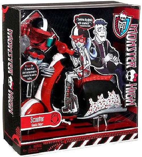 Monster High Ghoulia Yelps' Scooter 10.5-Inch
