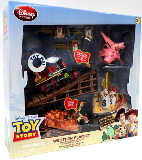 Disney Toy Story Woody's Roundup Western Exclusive Playset