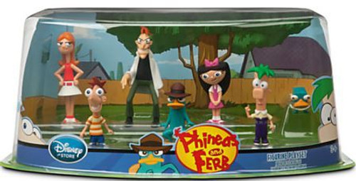 Disney Phineas and Ferb Figurine Playset Exclusive