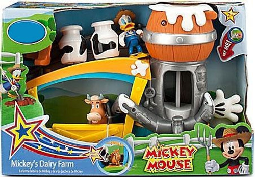 Disney Mickey Mouse Mickey's Dairy Farm Exclusive Playset