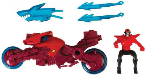 Power Rangers Super Samurai Shark Sword Cycle With Shark Attack Ranger Action Figure