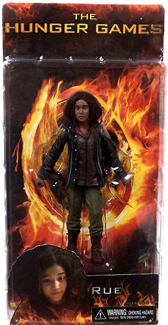 NECA The Hunger Games Series 2 Rue Exclusive Action FIgure