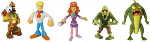 Scooby Doo Mystery Mates Sherlock Scooby & The Monsters Mini Figure 5-Pack