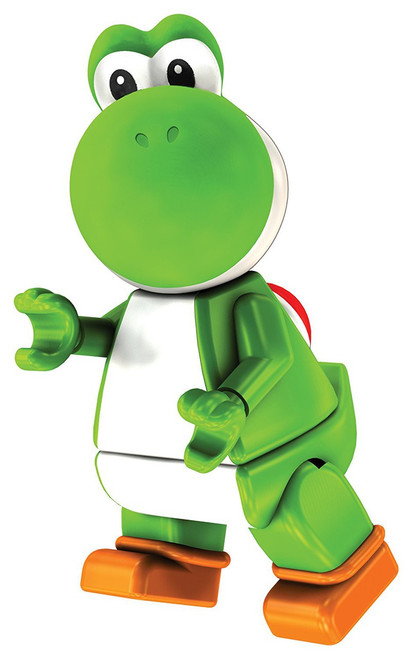 K'NEX Super Mario Yoshi 2-Inch Minifigure [Green Loose]